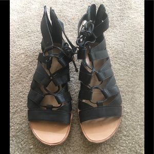 Franco sarto lace up sandals